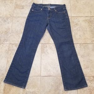 Old Navy Great Cond. Stretchy Bootcut Blue Jeans